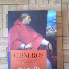 Libros: JOSÉ GARCÍA ORO - CISNEROS. Lote 171398408