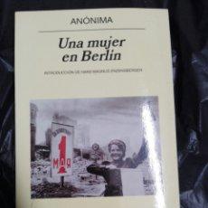 Libros: UNA MUJER EN BERLIN 1945. Lote 177078768