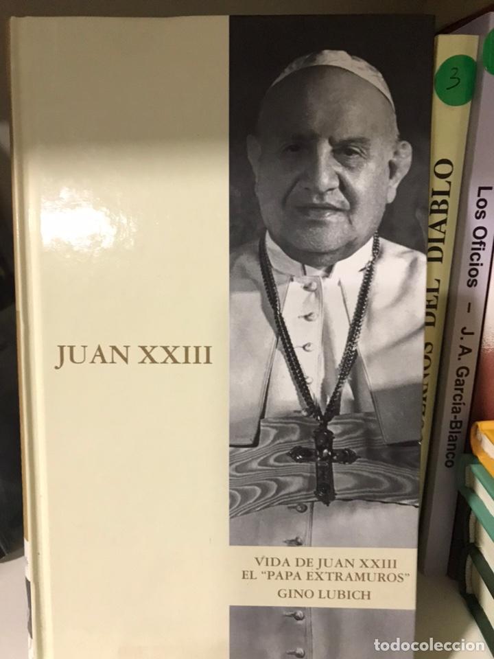 VIDA DE JUAN XXIII EL PAPA EXTRAMUROS. GINO LUBICH. (Libros Nuevos - Literatura - Biografías)