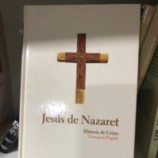 Libros: JESÚS DE NAZARET. HISTORIA DE CRISTO. GIOVANNI PAPINI. Lote 182028546