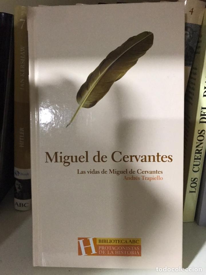 Libros: LAS VIDAS DE MIGUEL DE CERVANTES. ANDRÉS TRAPIELLO. - Foto 2 - 182029403