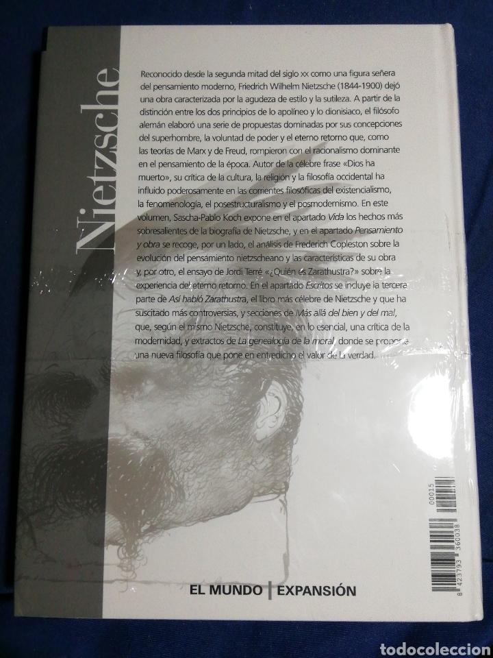 Libros: NUEVO EN EL PLÁSTICO. NIETZCHE VIDA PENSAMIENTO Y OBRA. TAPA DURA - Foto 2 - 182735532