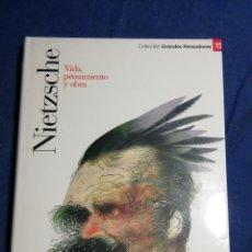 Libros: NUEVO EN EL PLÁSTICO. NIETZCHE VIDA PENSAMIENTO Y OBRA. TAPA DURA. Lote 182735532