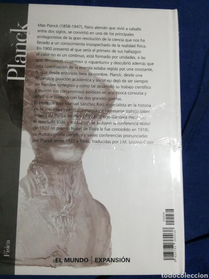 Libros: NUEVO EN EL PLÁSTICO!. PLANCK. VIDA PENSAMIENTO Y OBRA - Foto 2 - 182735857