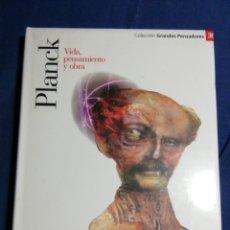 Libros: NUEVO EN EL PLÁSTICO!. PLANCK. VIDA PENSAMIENTO Y OBRA. Lote 182735857
