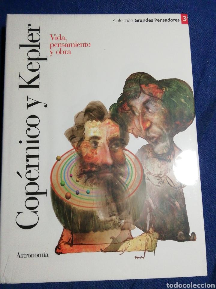 NUEVO EN EL PLÁSTICO!. COPERNICO Y KEPLER. VIDA PENSAMIENTO Y OBRA (Libros Nuevos - Literatura - Biografías)
