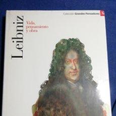 Libros: NUEVO EN EL PLÁSTICO. LEIBNIZ. VIDA PENSAMIENTO Y OBRA. Lote 182736552