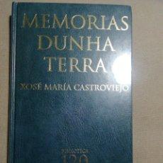 Libros: NUEVO EN EL PLÁSTICO. MEMORIAS DUNHA TERRA. XOSÉ MARÍA CASTROVIEJO. EN GALLEGO. Lote 184881867