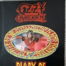 Libros: OZZY OSBOURNE- DIARY OF A MADMAN. Lote 190915086