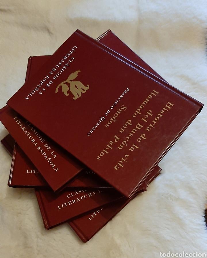 Libros: Libros Clásicos la literatura española compuesta por 5 tomos ediciones Rueda prácticamente nuevos. - Foto 3 - 192715863