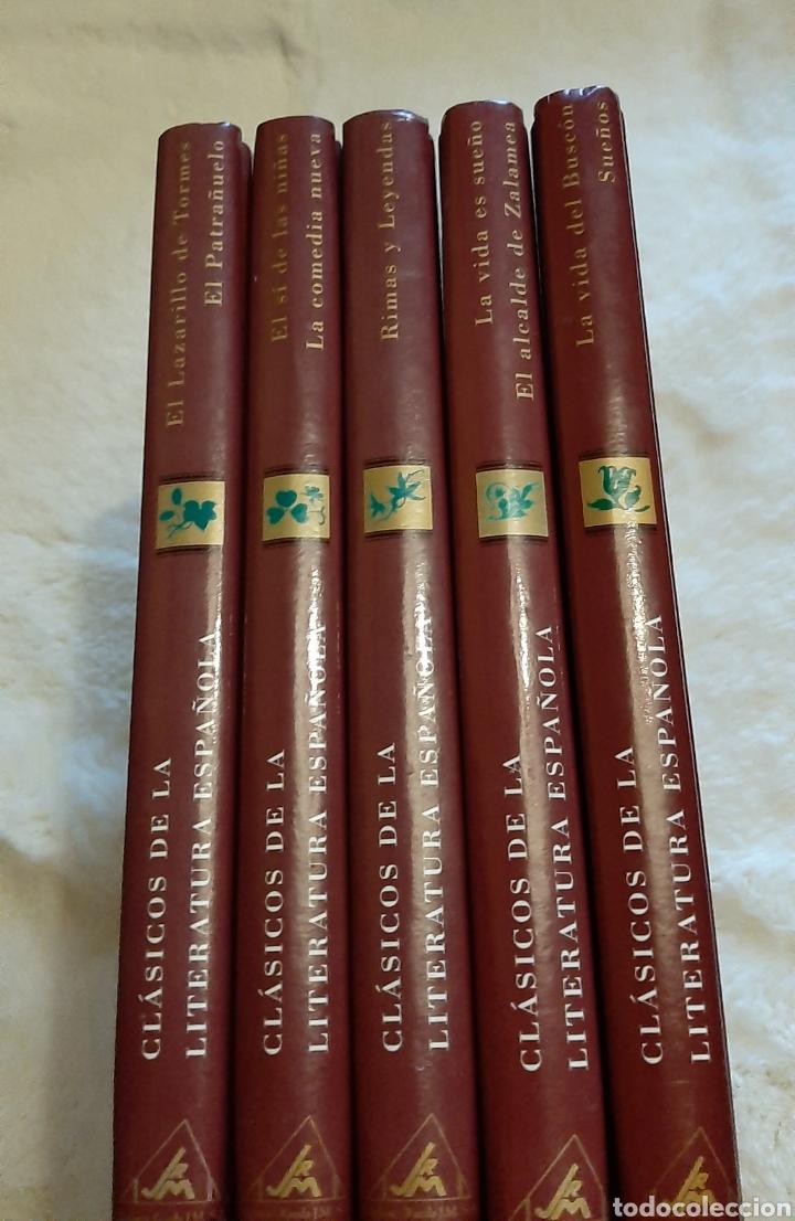 Libros: Libros Clásicos la literatura española compuesta por 5 tomos ediciones Rueda prácticamente nuevos. - Foto 5 - 192715863