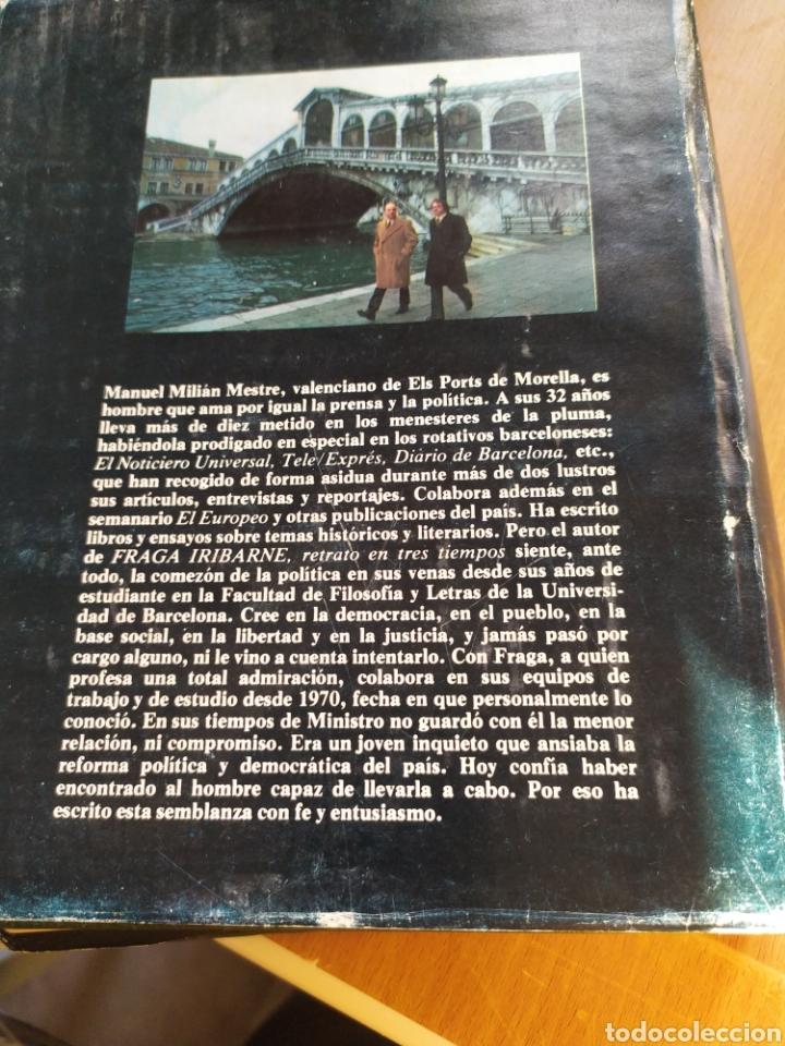 Libros: Fraga iribarne retrato en tres tiempos - Foto 2 - 194491102