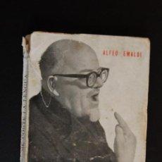 Libros: 6- ALFEO EMALDI - ME CORTÉ LA LENGUA - EDICIONES JAVERIANAS- AUTÓGRAFO ORIGINAL DEL AUTOR. Lote 198936002