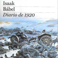 Libros: ISAAC BABEL DIARIO DE 1920. Lote 204414213