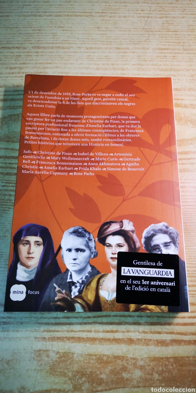 Libros: Moments femenins de la humanitat - Quinze dones que han fet història - Foto 2 - 204698447