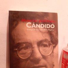 Libros: MEMORIAS PROHIBIDAS CÁNDIDO. Lote 204778427