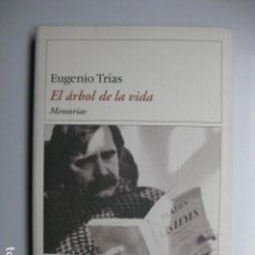 Libros: LIBRO - EL ARBOL DE LA VIDA MEMORIAS - ED. DESTINO - EUGENIO TRIAS - NUEVO 1ª EDICION. Lote 205834230