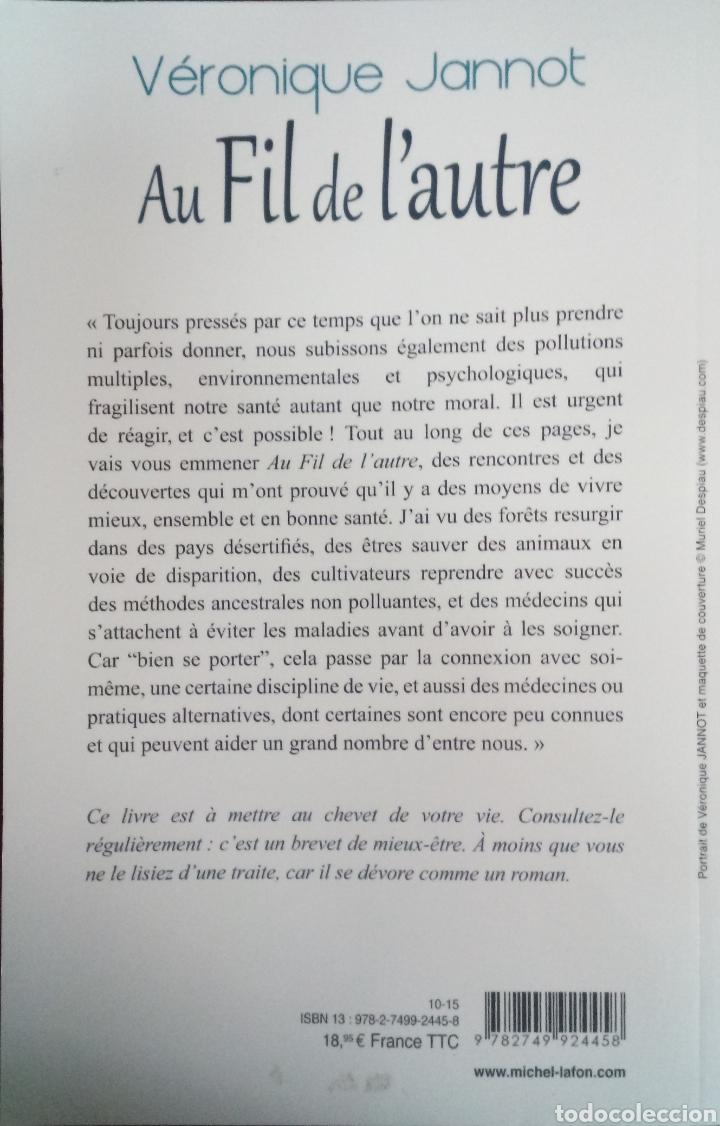 Libros: Libro Au fil de lautre Veronique Jannot - Foto 2 - 205796272