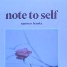 Libros: NOTE TO SELF. Lote 206162827