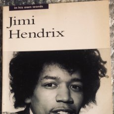 Livros: JIMI HENDRIX IN HIS OWN WORDS. Lote 207618410