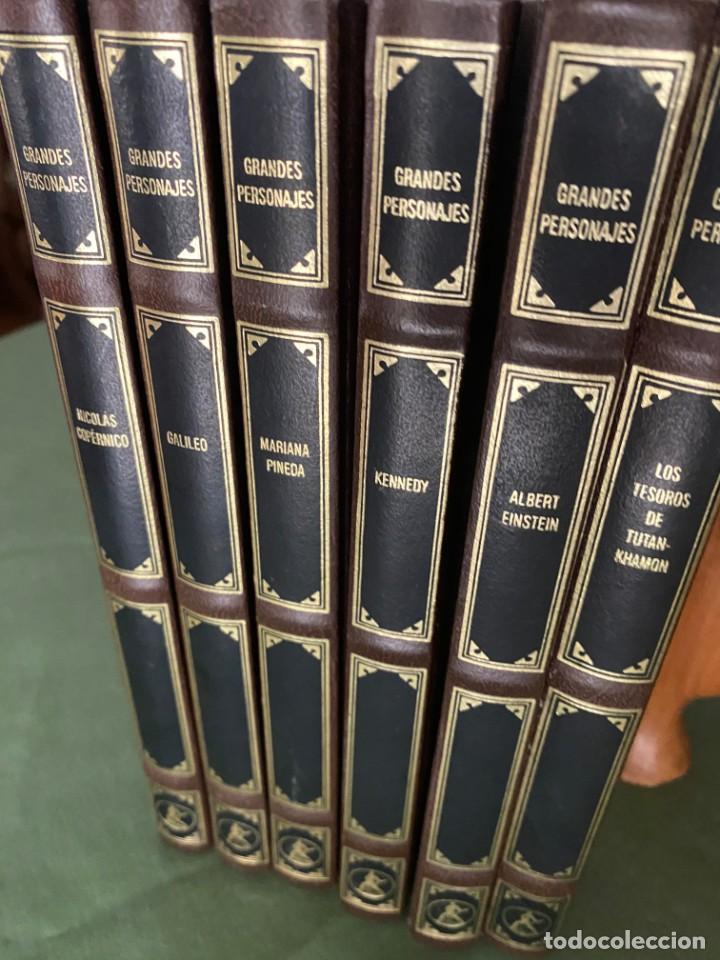 GRANDES PERSONAJES - LABOR 6 TOMOS NUEVOS CARTONÉ Y PIEL -ED. BUENA LECTURA Y MAGNIFICA DECORACIÓN! (Libros Nuevos - Literatura - Biografías)
