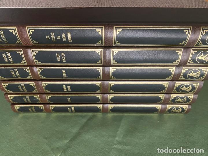 Libros: GRANDES PERSONAJES - LABOR 6 TOMOS NUEVOS CARTONÉ Y PIEL -ED. BUENA LECTURA Y MAGNIFICA DECORACIÓN! - Foto 2 - 207695565