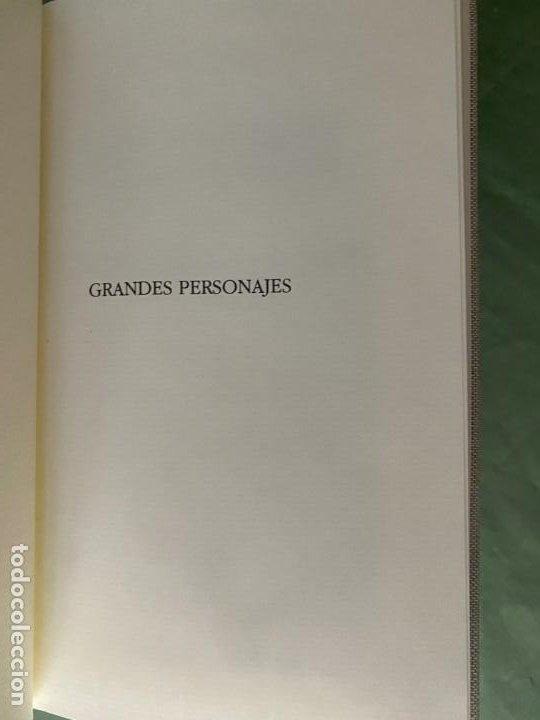 Libros: GRANDES PERSONAJES - LABOR 6 TOMOS NUEVOS CARTONÉ Y PIEL -ED. BUENA LECTURA Y MAGNIFICA DECORACIÓN! - Foto 5 - 207695565