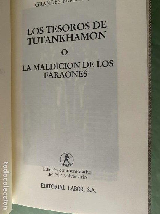 Libros: GRANDES PERSONAJES - LABOR 6 TOMOS NUEVOS CARTONÉ Y PIEL -ED. BUENA LECTURA Y MAGNIFICA DECORACIÓN! - Foto 6 - 207695565