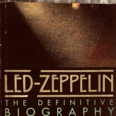 Livros: LED ZEPPELIN: THE DEFINITIVE BIOGRAPHY. Lote 207821930