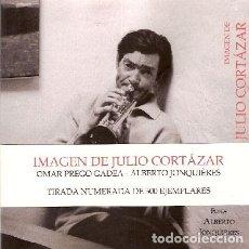 Libros: PREGO GADEA, OMAR; JONQUIÉRES, ALBERTO - IMÁGEN DE JULIO CORTÁZAR - PRIMERA EDICIÓN. Lote 209915582