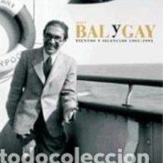 Libros: TIENTOS Y SILENCIOS. JESÚS BAL Y GAY (1905-1993). Lote 211642690