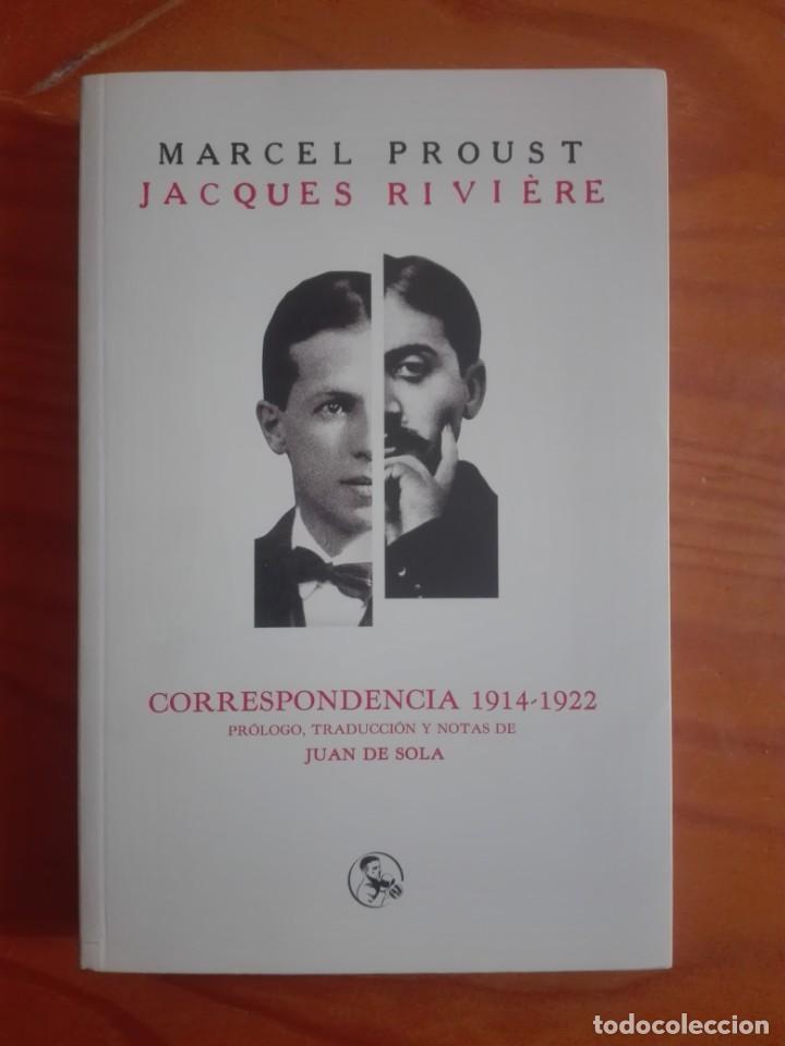 MARCEL PROUST. CORRESPONDENCIA 1914-1922 (Libros Nuevos - Literatura - Biografías)