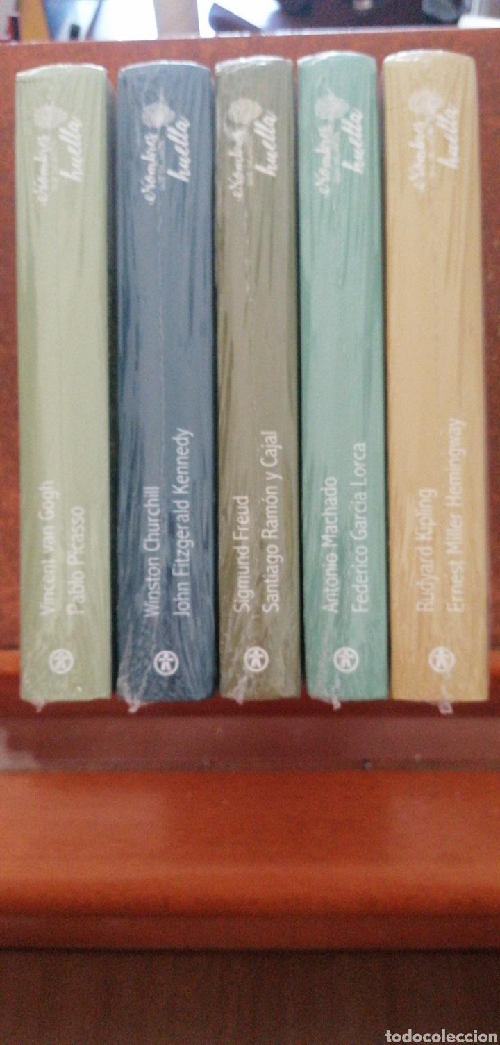 COLECCIÓN DE LIBROS NUEVOS NOMBRES QUE DEJARON HUELLA (Libros Nuevos - Literatura - Biografías)