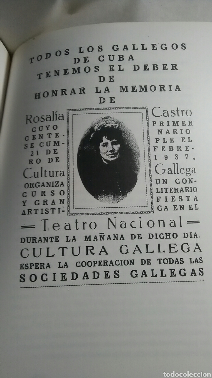 Libros: Rosalía de Castro y Cuba. Xose Neira Vilas. Edicions do Patronato. - Foto 3 - 217569386