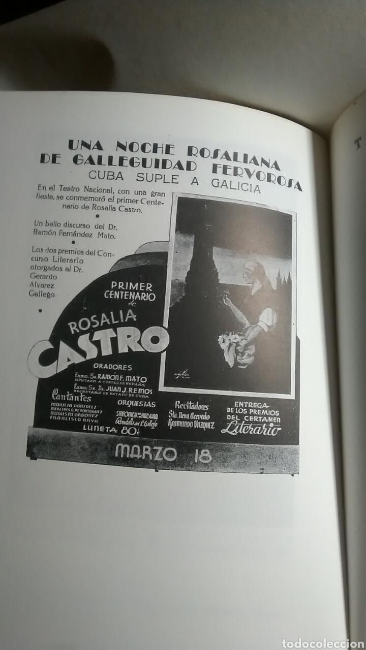 Libros: Rosalía de Castro y Cuba. Xose Neira Vilas. Edicions do Patronato. - Foto 5 - 217569386