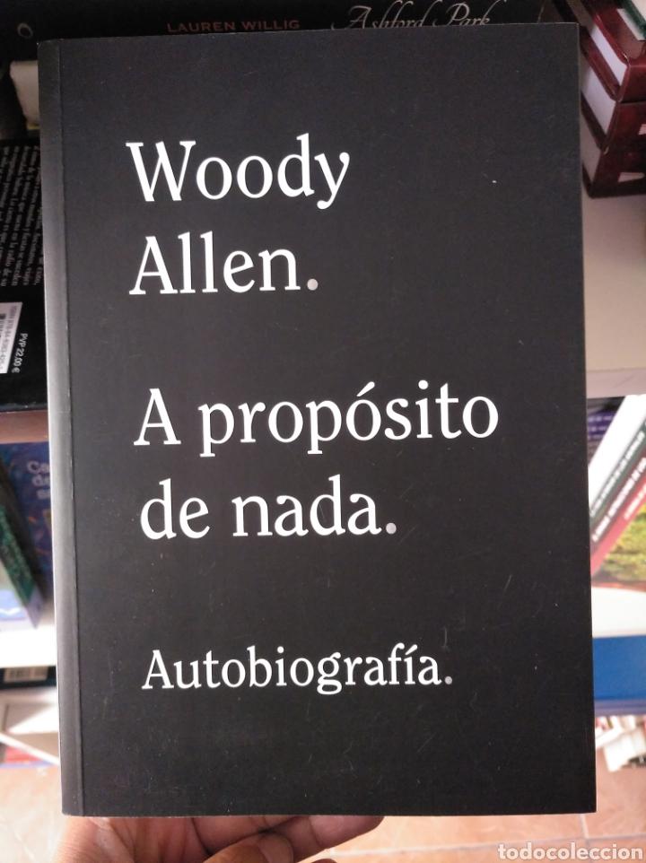 Libros: A propósito de nada. Allen, Woody. Alianza. Nuevo - Foto 2 - 218460428