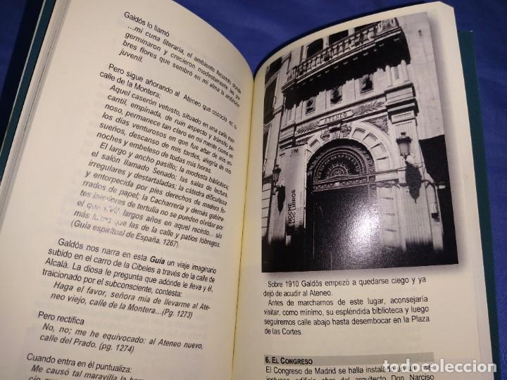 Libros: libro rutas literarias (24 horas en el Madrid de Galdos) - Foto 2 - 218538896
