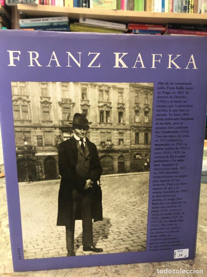 Libros: Franz Kafka. Imágenes de su vida - Foto 2 - 218722962