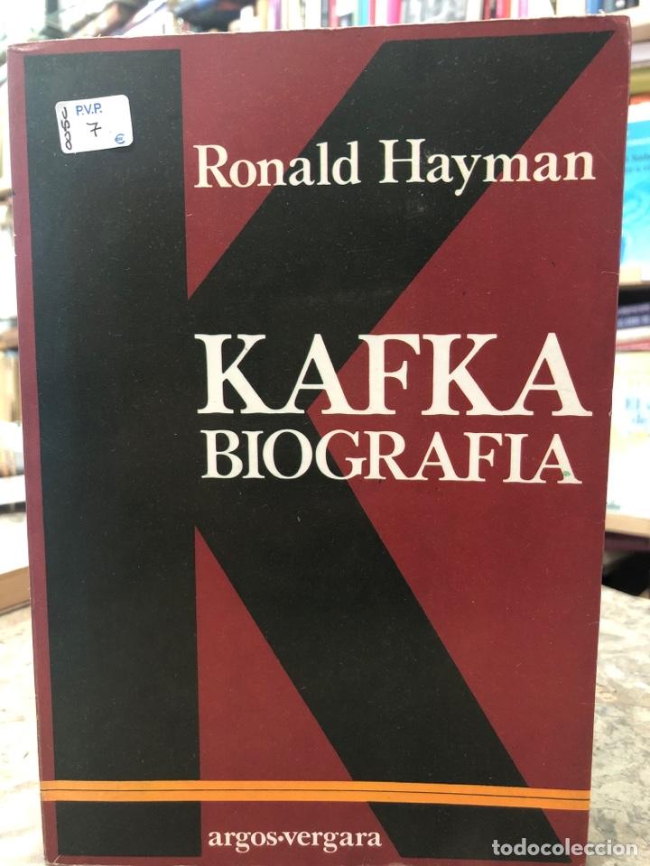 KAFKA BIOGRAFÍA (Libros Nuevos - Literatura - Biografías)