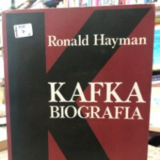 Libros: KAFKA BIOGRAFÍA. Lote 218723312