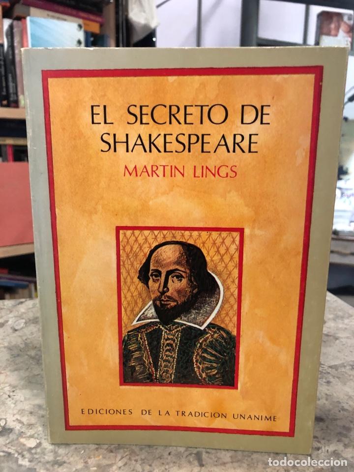 EL SECRETO DE SHAKESPEARE (Libros Nuevos - Literatura - Biografías)