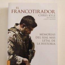 Libros: EL FRANCOTIRADOR (MEMORIAS DEL SEAL MÁS LETAL DE LA HISTORIA). Lote 218917321