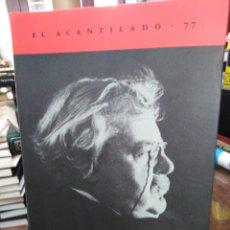 Libros: AUTOBIOGRAFÍA-G.K.CHESTERTON,EL ACANTILADO 77,TRADUCCION OLIVIA DE MIGUEL,NUEVO. Lote 218968071