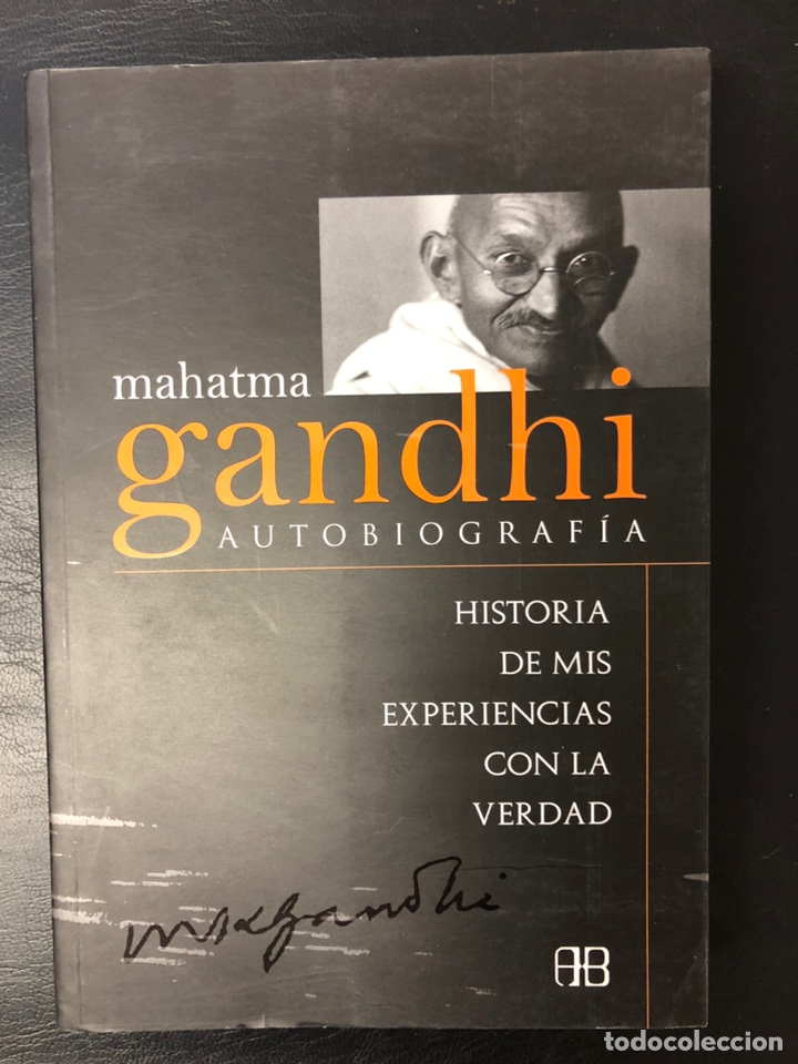 AUTOBIOGRAFÍA DE GANDHI (Libros Nuevos - Literatura - Biografías)