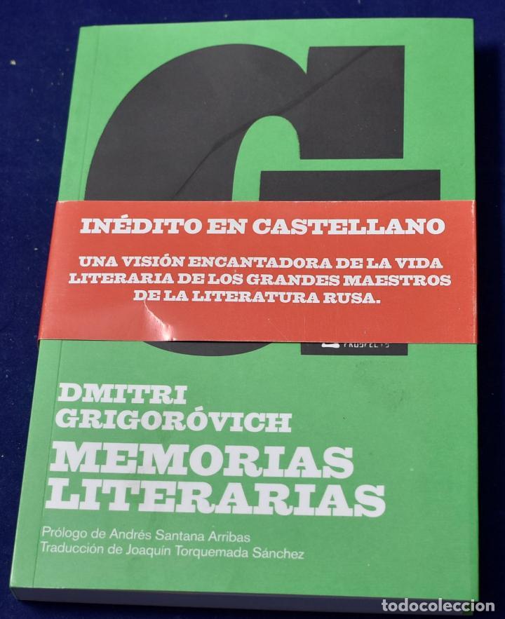 MEMORIAS LITERARIAS (NARRATIVA) - GRIGORÓVICH, DMITRI (Libros Nuevos - Literatura - Biografías)
