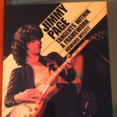 Libros: JIMMY PAGE TANGENTS WITHIN A FRAMEWORK. Lote 222563496