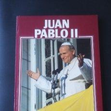Libros: JUAN PABLO II, EDICIONES CASTEL (32,5×25 ,TAPA DURA ). Lote 222659283