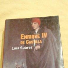 Livres: ENRIQUE IV DE CASTILLA LUIS SUAREZ. Lote 223533091