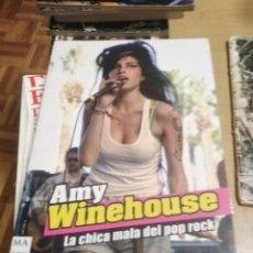 Libros: AMY WINEHOUSE LA CHICA MALA DEL POP ROCK - JOAN SARDÁ - BIOGRAFÍA FOTOS CANTANTE BRITÁNICA LIBRO. Lote 294463548