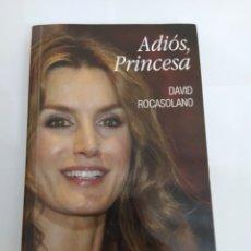 Livres: ADIÓS, PRINCESA - DAVID ROCASOLANO. Lote 225202737
